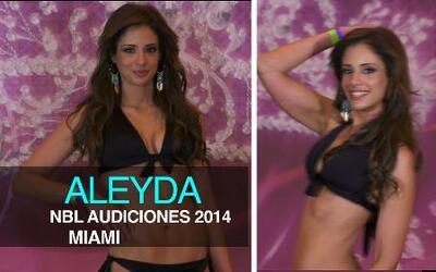 La sexy Puertorriqueña Aleyda Ortiz en su primera audición para Nuestra...
