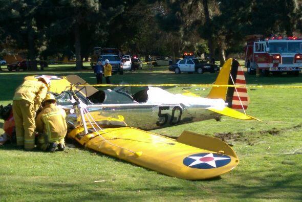 Según reportes de CNN, el campo de golf donde se estrelló el avión es un...