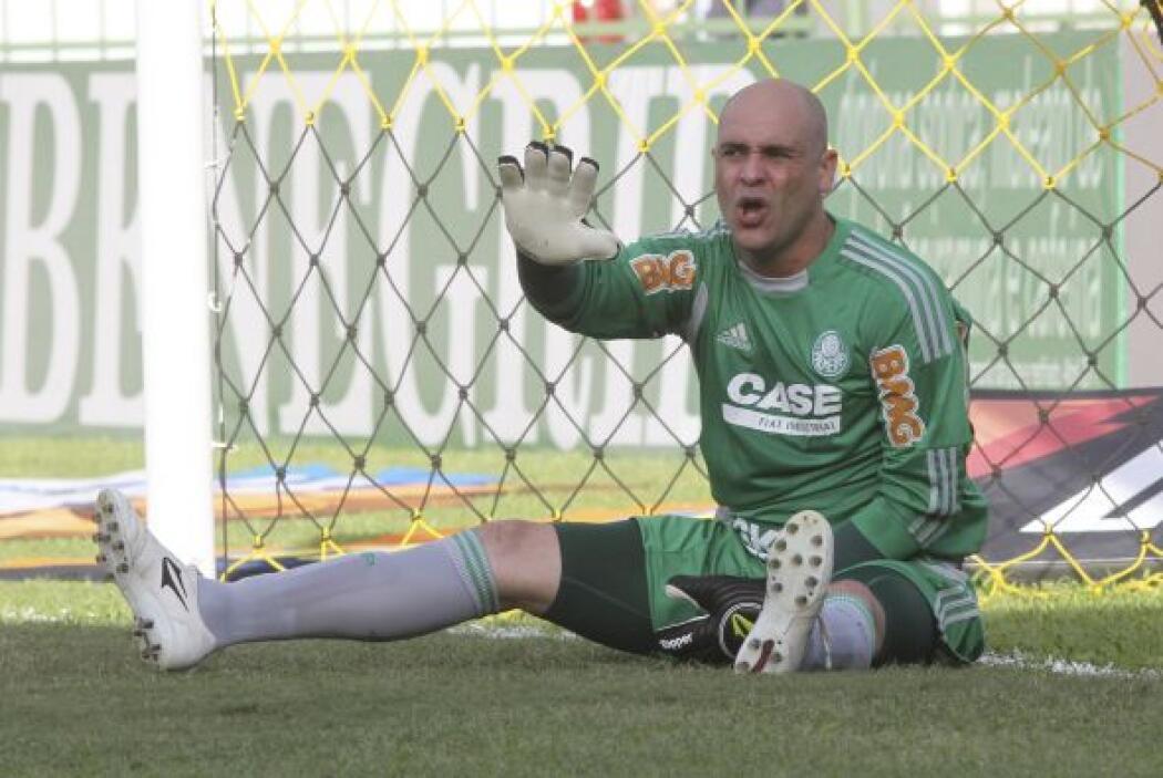 El portero Marcos se retiró a los 38 años. Con Palmeiras jugó 530 partid...