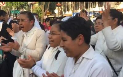 Alegría por la llegada del Papa a México