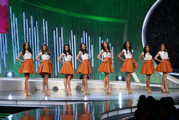 Aquí sus ocho chicas que viajaron a México.