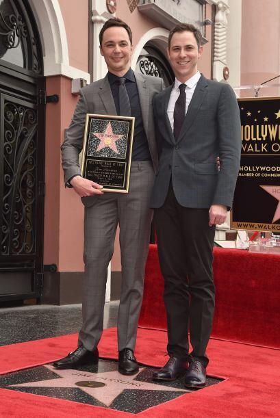 Jim con Todd.