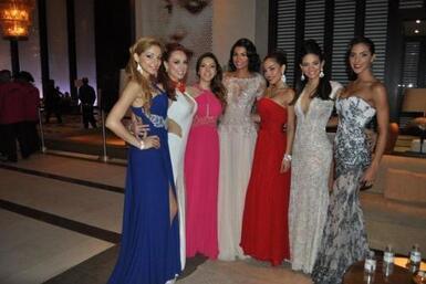 Marisela Demontecristo se encontró con las seis primeras finalistas para...