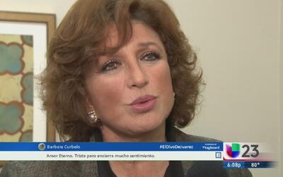 """Angélica María despide a """"El divo de Juárez"""""""