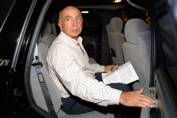 Pedro Carmona Estanga, ex presidente de Fedecámaras en Venezuela  El asi...