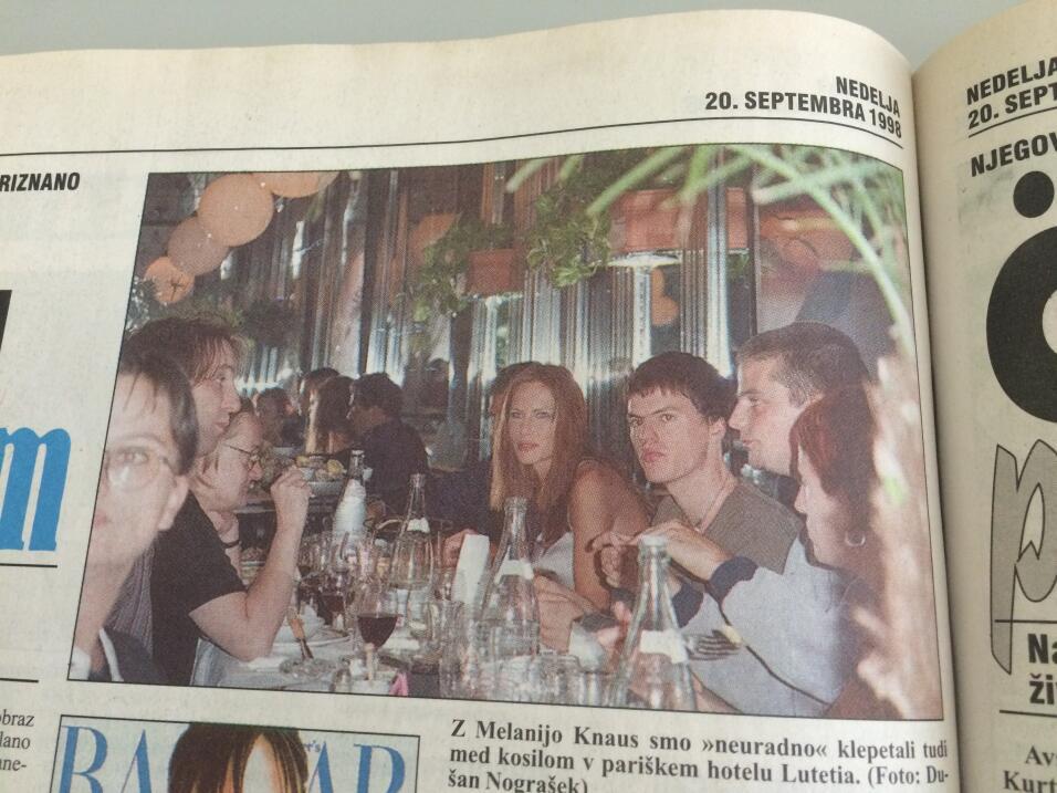 Melania periodico 1998