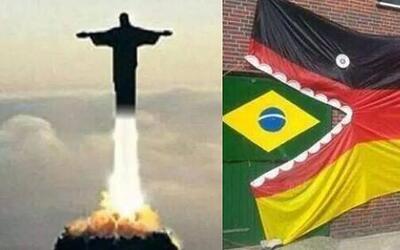 El partido de Brasil vs. Alemania nos dejó memes muy divertidos