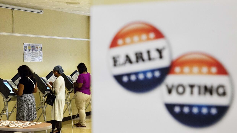 El voto anticipado puede ser crucial.