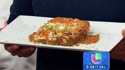 Receta de Lasaña a la Boloñesa con el chef Mario
