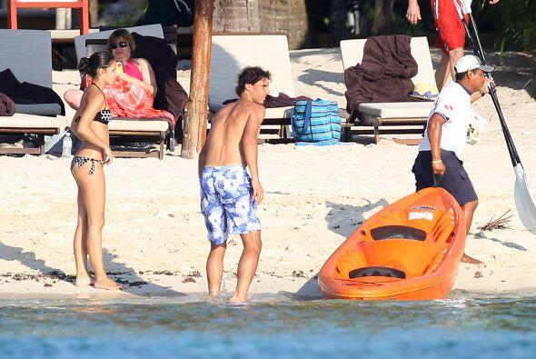 Antes de partir a Indian Wells, Nadal se fue a las playas mexicanas a re...