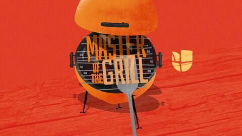 Master of the Grill: costilla cargada de res