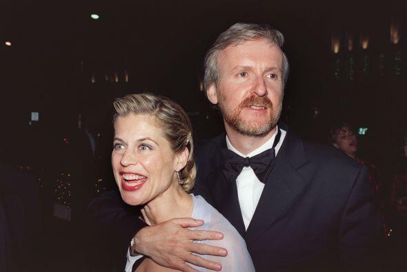 James Cameron y Linda Hamilton eran una pareja amorosa y feliz, desde qu...