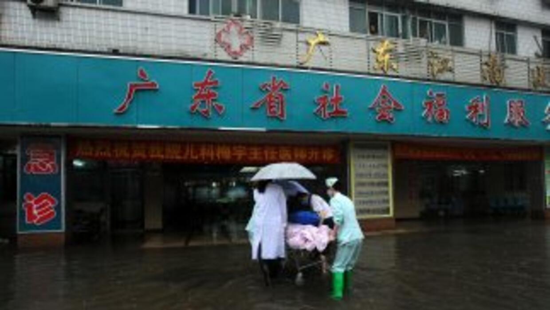 Las intensas lluvias que azotan desde hace días el noroeste de China han...