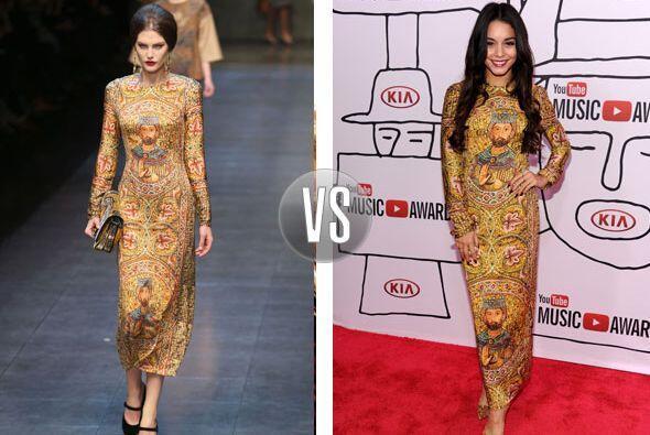 Este vestido de Dolce & Gabbana otoño-invierno 2013 se convirtió en uno...