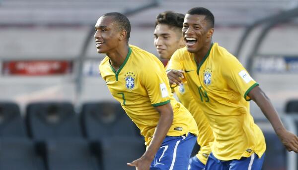 Brasil derrotó a Inglaterra en Sub 17