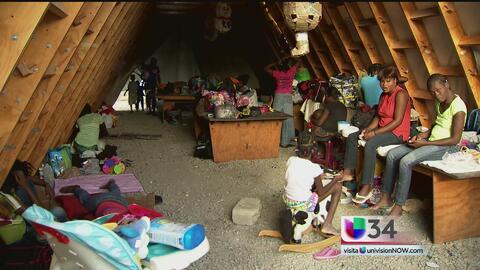 Haitianos viven una difícil situación para solicitar asilo en EEUU