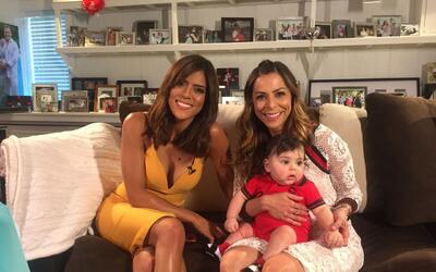 Francisca Lachapel conoció al pequeño MVP en su entrevista...