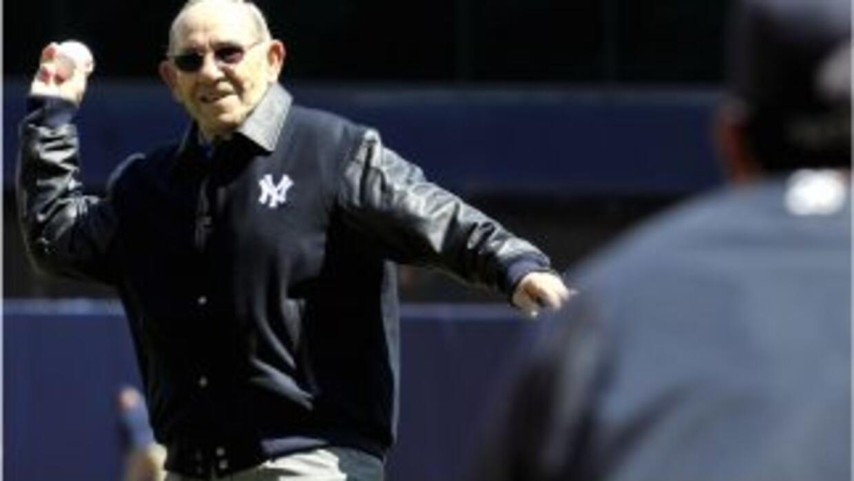 Yogi Berra, célebre cátcher de los Yanquis de NY