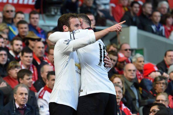 El ibérico ponía adelante al United al minuto 14.