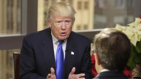Trump cuestiona la política de 'una sola China', y no tardan las reacciones