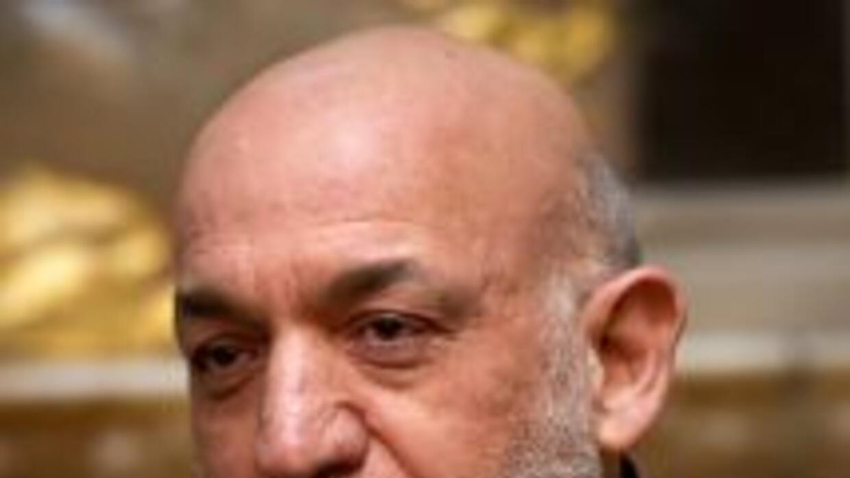 El presidente afgano Hamid Karzai.