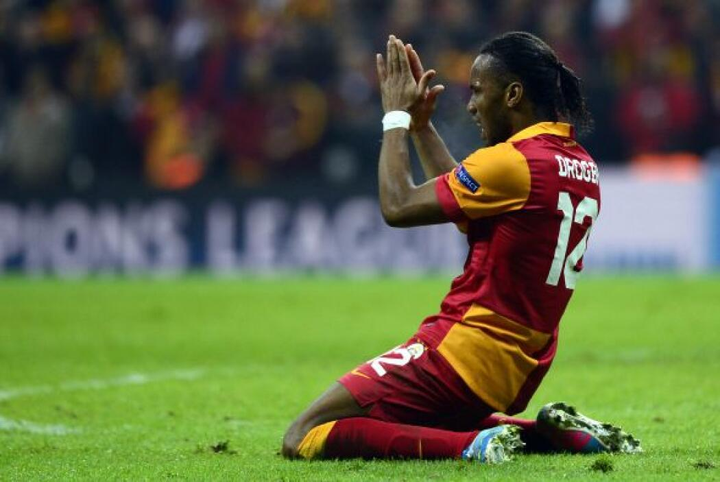 Al Galatasaray se le puso aún más difícil, los turcos necesitaban 5 gole...