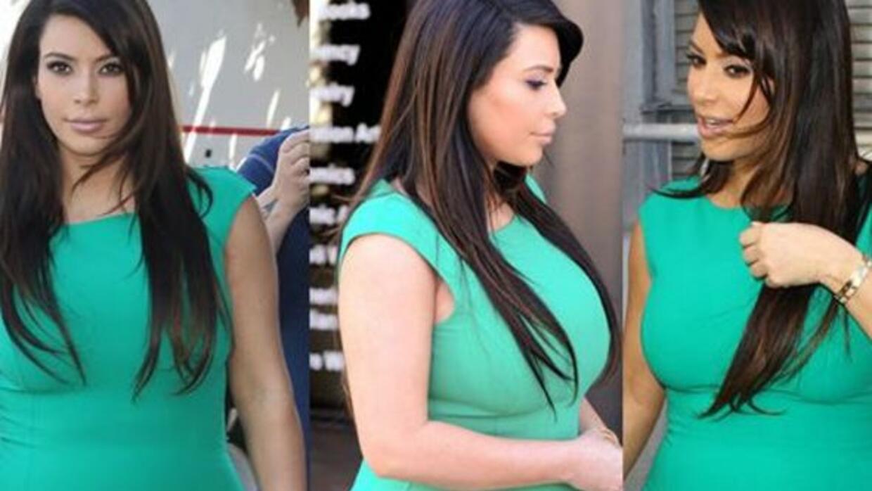 ¡Kim Kardashian no déjà respirar a su bebe con sus looks de maternidad!