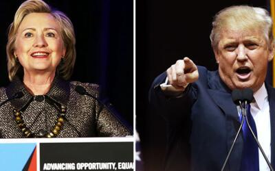 Trump y Clinton esperan apuntalar sus carreras a la Casa Blanca