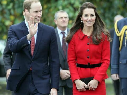 La duquesa de Cambridge sigue disfrutando de su paso por Nueva Zelanda....