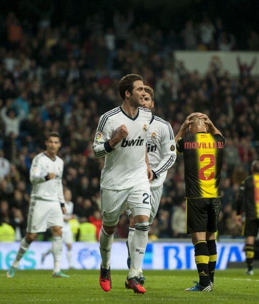 Real MAdrid se impuso 4-0 al Zaragoza en un partido jugado sin mucha int...