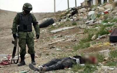 En Guerrero se registraron 1,832 homicidios en los primeros 10 meses de...