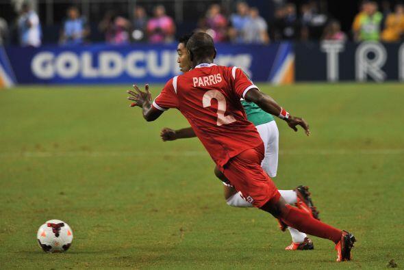 La defensa panameña dio un partido de muy buen nivel, atentos, seguros,...