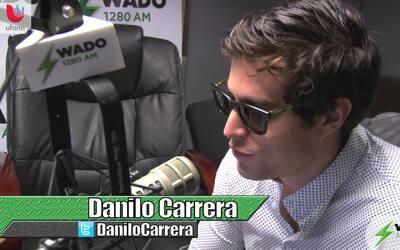 El reconocido y joven comunicador Danilo Carrera en Buen Día New York