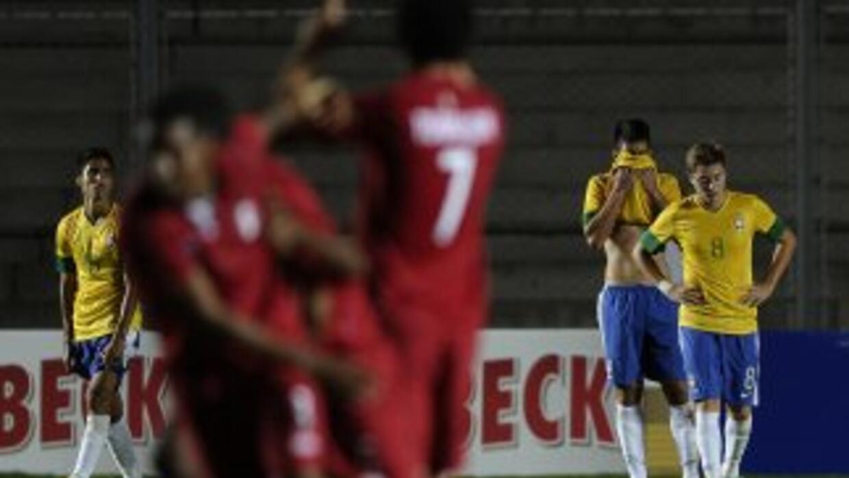 Perú celebra y Brasil se va del Sudamericano Sub-20 con más pena que gl...