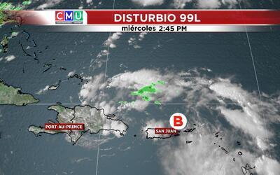 Puerto Rico está en alenta ante el paso del disturbio tropical po...