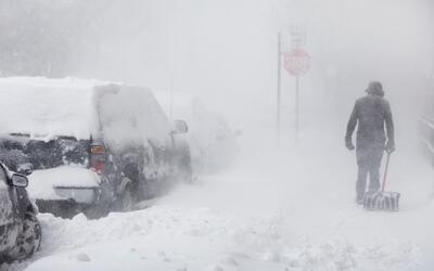 Temperaturas bajo cero y tormentas de nieve afectan a cerca 220 millones...