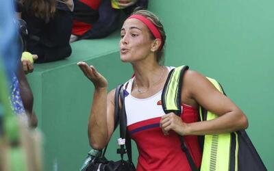 Tenista de Puerto Rico en los Juegos Olímpicos de Río de Janeiro.
