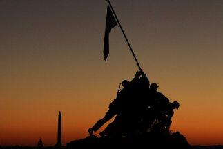 Memorial Iwo Jima en Arlington, Virginia.