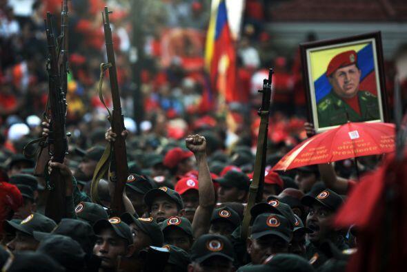 El pueblo venezolano escuchó el llamado de Chávez de perfeccionar los la...