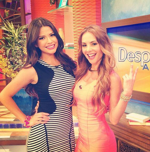"""""""Bienvenida @ximenacordoba a @DespiertaAmericaTv. Nuestra reportera del..."""