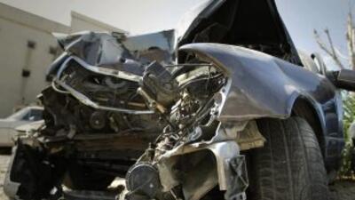 Un choque entre dos autos en una carretera de Tamaulipas dejó al menos o...