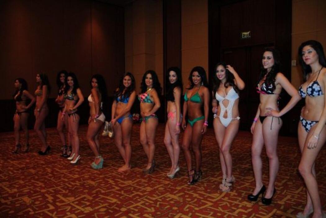 La audición de Nuestra Belleza Latina en Los Ángeles reunió a rubias, mo...