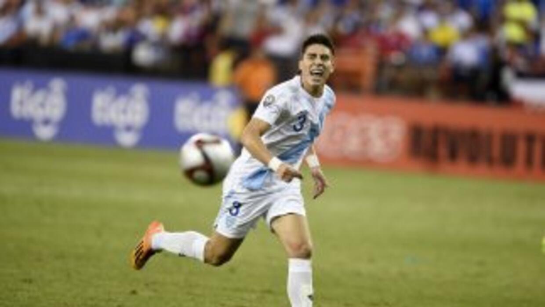 Elías Vázquez fue uno de los convocados por Guatemala.