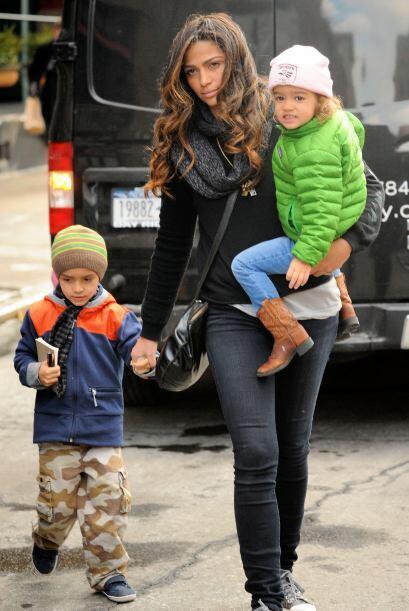 También la esposa del guapo actor Matthew McConaughey, Camila Alves.