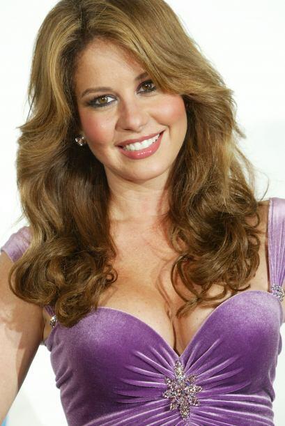 La presentadora Myrka Dellanos también figura en la lista de Las 25 Muje...