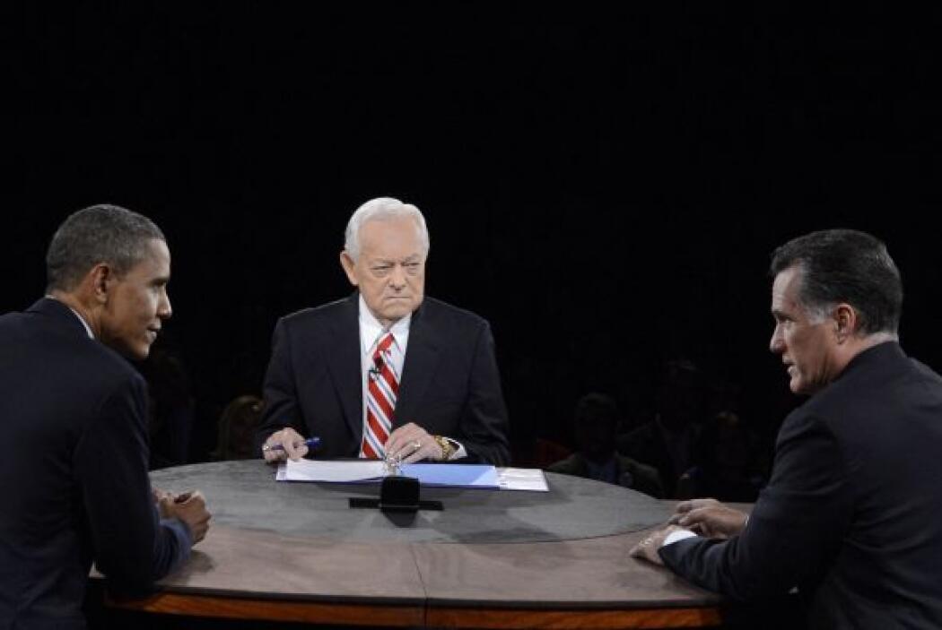 Para culminar, Barack Obama, subrayó las diferencias con su rival republ...