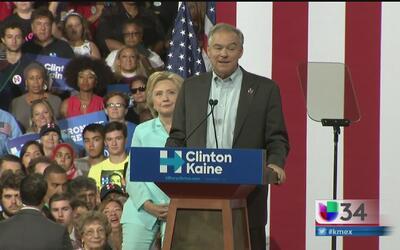 Tim Kaine, el compañero de fórmula de Hillary Clinton