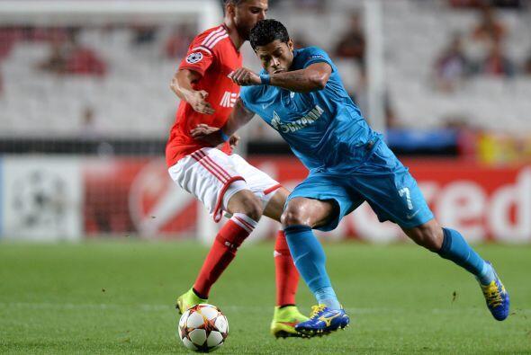 En Portugal el Zenit daría la sorpresa al vencer como visitante 2-0 al B...