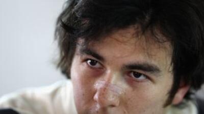 Sergio 'Checo' Pérez aseguró estar motivado para hacer sus primeros punt...