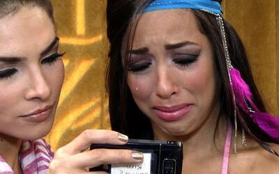 Shalimar Rivera rompió en llanto al ver a su novio pidiéndole perdón